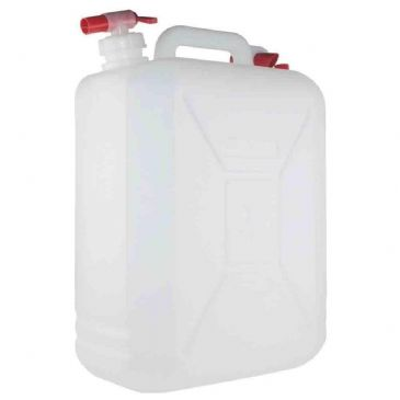 25 Litre Water Container Jerry Can with Tap and Carry Handle